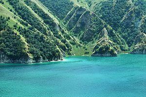 Lake Kezenoyam - Image: Kezenoy lake