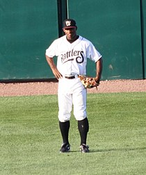 Khris Davis LF 2010 Wisconsin Timber Rattlers.jpg