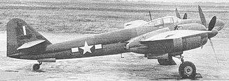 Mitsubishi Ki-83 - An Ki-83 in American markings after the war.