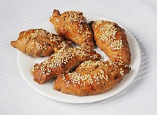 Kifli made with spelt flour (Serbian cuisine).jpg