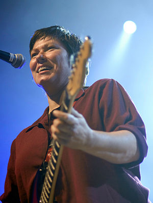 Kim Deal - Kim Deal performing with The Breeders at All Tomorrow's Parties festival in 2009