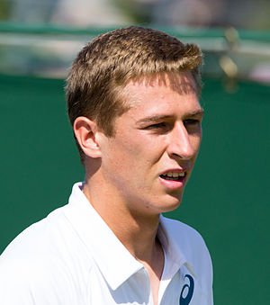 Kimmer Coppejans - Coppejans at the 2015 Wimbledon<br/>qualifying tournament