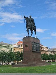 Tomiszláv szovra Zágrábban