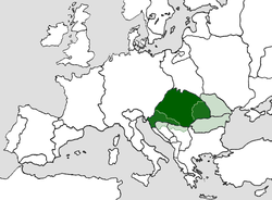 Territory of the Kingdom of Hungary