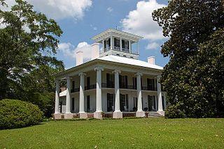 Kirkwood (Eutaw, Alabama) historic plantation house in Eutaw, Alabama