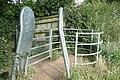 Kissing gate at Beech Road - geograph.org.uk - 916088.jpg