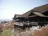 Kiyomizu-dera en primavera