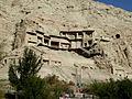 Kizil Caves Kuqa Xinjiang China 新疆 库车 克孜尔千佛洞 - panoramio (1).jpg