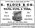 Klous CourtSt BostonDirectory 1852.png