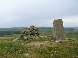 Old Luce - Image: Knock Fell trig geograph.org.uk 214276