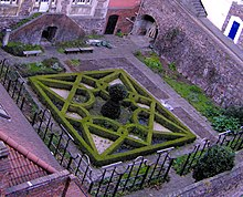 the knot garden at the red lodge museum bristol