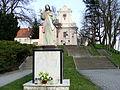 Kościół klasztorny reformatów, ob. par. pw. św. Mikołaja, 2 poł. XVIII Łabiszyn 12.JPG