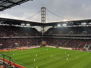 Bayer 04 Leverkusen - Leverkusen against rivals Köln in the Bundesliga in 2012