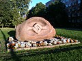 Kohlta-jarve, The stone of friendship.JPG