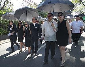 Benjamin Romualdez - Governor Romualdez Funeral