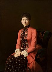 Portrait of a young lady (so-called Anna Karenina).