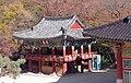 Korea-Busan-Beomeosa 6250-07 Bell Pavilion.JPG