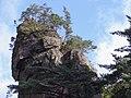 Korea-Gangwondo-Odaesan National Park 1671-07 Baekundam Peak.JPG