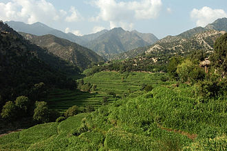 Kunar Province - View of the Korangal Valley