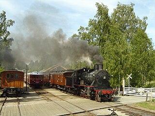 Krøderen Line railway line in Norway
