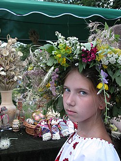 Kraina Mriy Ukraine folk costume flower wreath.jpg