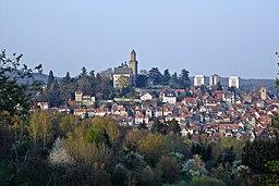 Kronberg mit Burg, Blick von Mammolshain
