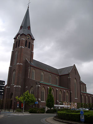 Nederlands: Sint-Eligiuskerk (1855) uit Kruish...