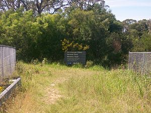 Ku-ring-gai Chase National Park - Entrance near Berowra railway station