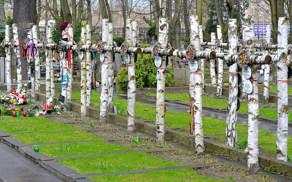 Kwatera Batalionu Zośka Cmentarz Wojskowy na Powązkach 010
