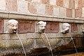 L'aquila, fontana delle 99 cannelle, mascheroni 05.jpg