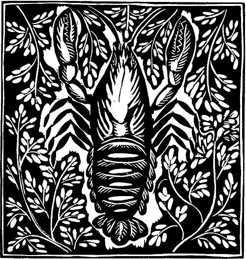L'Écrevisse (Apollinaire - Le Bestiaire, ou Cortège d'Orphée).jpg