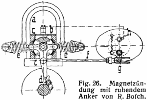 Robert Bosch - Magnetic ignition
