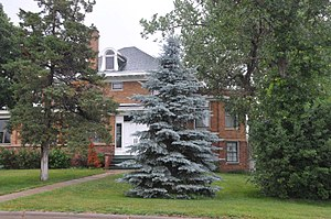 National Register of Historic Places listings in Sully County, South Dakota - Image: L. E. SNYDER HOUSE, SULLY COUNTY, SD