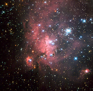 OB star - LH 72 is one of the OB associations present in the Large Magellanic Cloud.