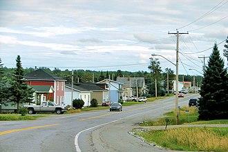 La Corne, Quebec - Image: La Corne QC