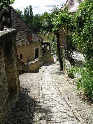 La Roque-Gageac - Image: La Roque Gageac rue