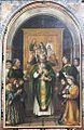 La messa di Sant'Apollonio (Romanino) - Chiesa di S. Maria in Calchera - Brescia (ph Luca Giarelli).JPG