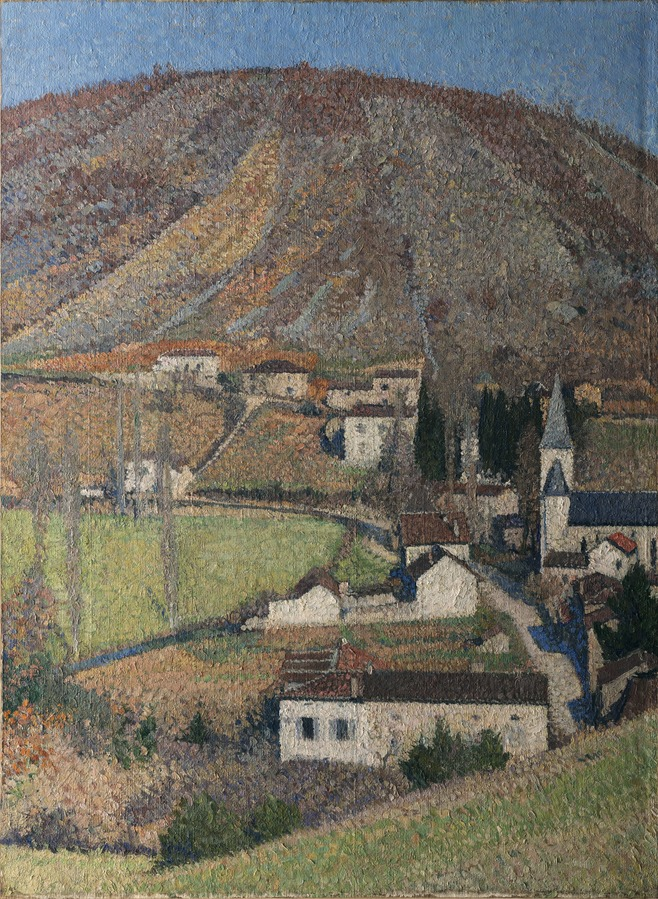 Labastide-du-Vert les collines