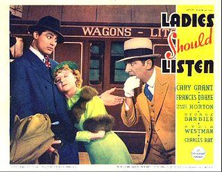 <i>Ladies Should Listen</i> 1934 film by Frank Tuttle