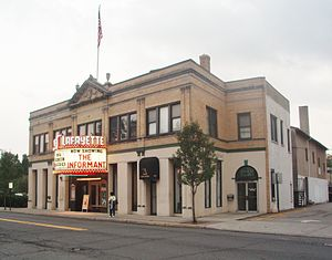 Suffern, New York - Lafayette Theater exterior