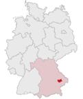 Landau an der Isar - Stadtplatz - Niemcy