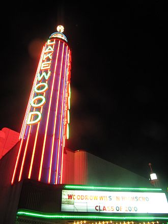 """Lakewood, Dallas - The Lakewood Theater opened in 1938 with """"Love Finds Andy Hardy"""""""