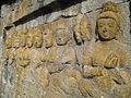 Lalitavistara - 004 E-2, Bodhisattva's Announcement that he will be Reborn on Earth, Rows of Gods (detail, left) (8598115969).jpg