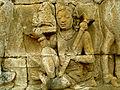Lalitavistara - 094 W-67, Siddhartha cuts his Hair (detail, right) (8598285505).jpg