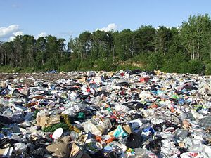 Landfill - One of several landfills used by Dryden, Ontario, Canada.
