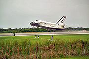 Landing of Space Shuttle Discovery