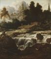 Landscape with a Waterfall (Allaert van Everdingen) - Nationalmuseum - 19147.tif