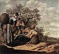 Landschap met pratende boeren by Pieter de Molijn.jpg