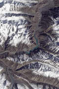 Landslide Lake in Northwest Pakistan.jpg