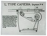Lantern slide used for aerial photography training (16494292786).jpg